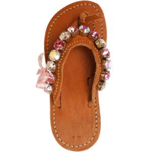 Greek-Sandals-χειροποίητο-δερμάτινο-παιδικό-σανδάλι-διχάλα